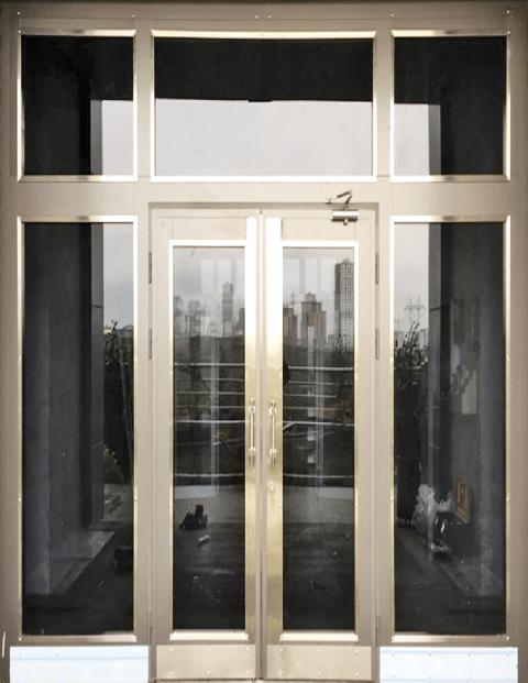 Villa 010 Bina Giriş Kapısı Modeli 010