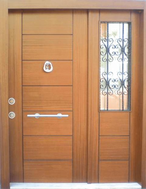 Villa 012 Bina Giriş Kapısı Modeli 012
