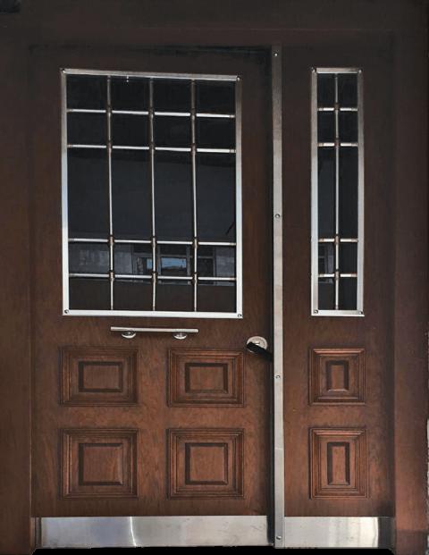 Villa 013 Bina Giriş Kapısı Modeli 013