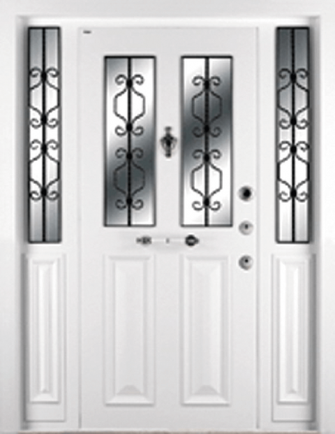 Villa 014 Bina Giriş Kapısı Modeli 014