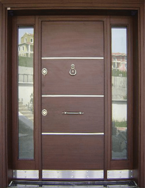 Villa 016 Bina Giriş Kapısı Modeli 016