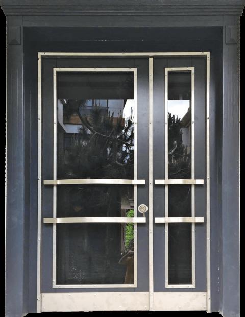 Villa 017 Bina Giriş Kapısı Modeli 017