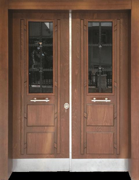 Villa 018 Bina Giriş Kapısı Modeli 018