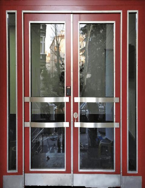 Villa 019 Bina Giriş Kapısı Modeli 019