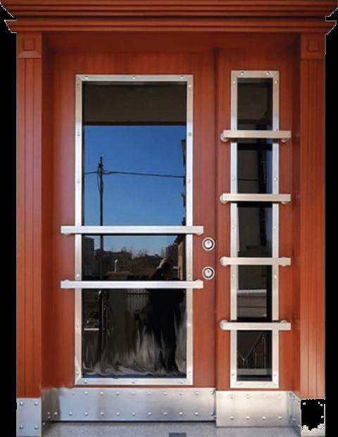 Villa 002 Bina Giriş Kapısı Modeli 002