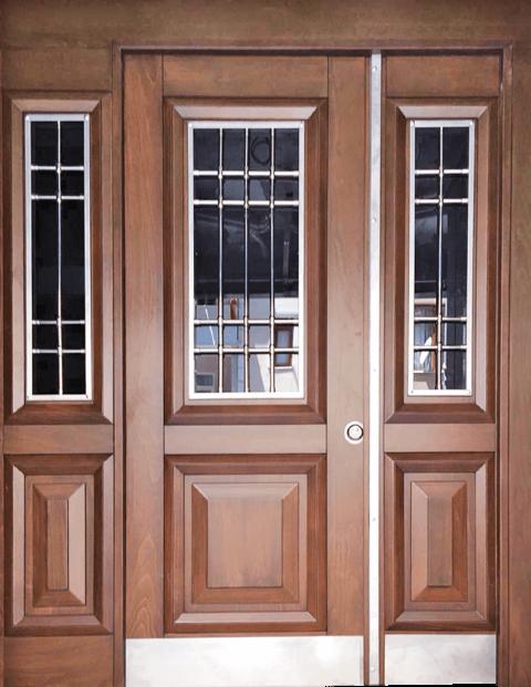 Villa 021 Bina Giriş Kapısı Modeli 021