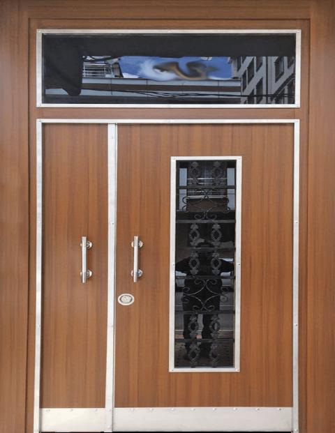 Villa 023 Bina Giriş Kapısı Modeli 023
