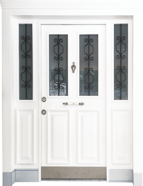 Villa 024 Bina Giriş Kapısı Modeli 024