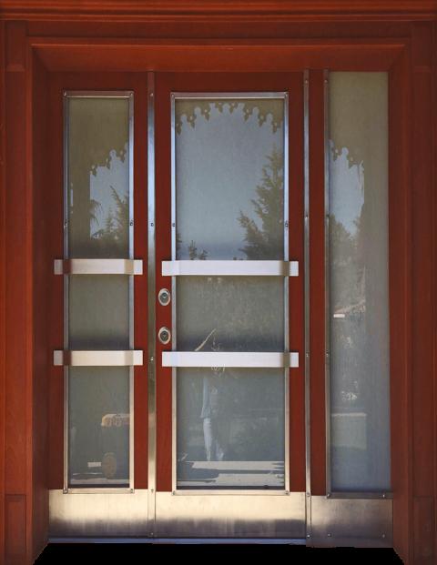 Villa 027 Bina Giriş Kapısı Modeli 027