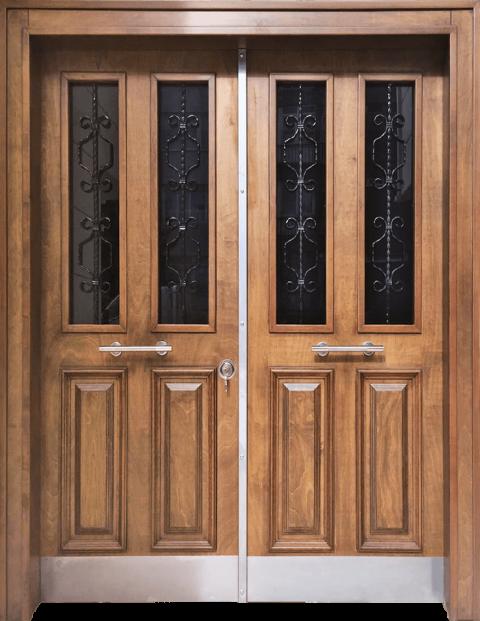 Villa 003 Bina Giriş Kapısı Modeli 003