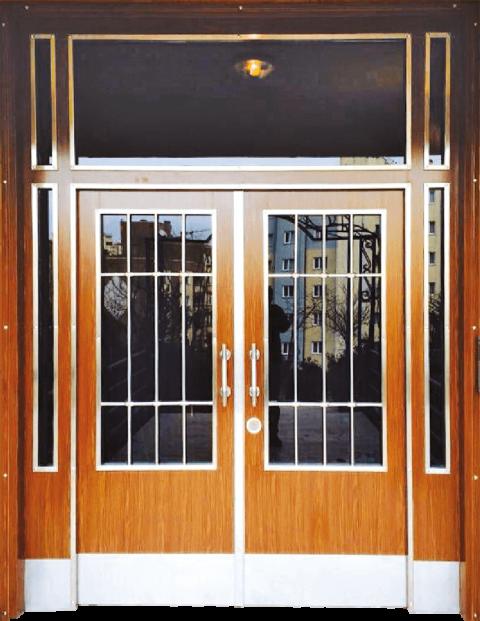 Villa 031 Bina Giriş Kapısı Modeli 031