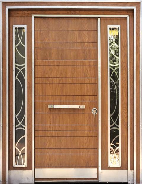 Villa 004 Bina Giriş Kapısı Modeli 004