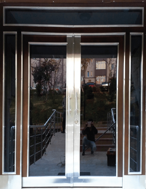 Villa 006 Bina Giriş Kapısı Modeli 006