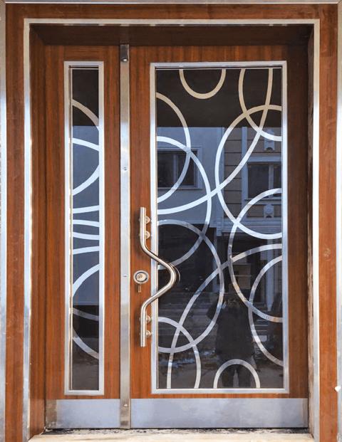 Villa 007 Bina Giriş Kapısı Modeli 007