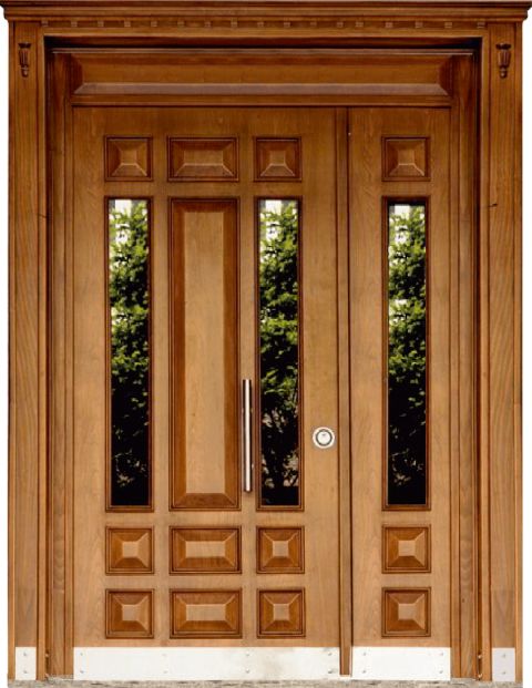 Villa 009 Bina Giriş Kapısı Modeli 009