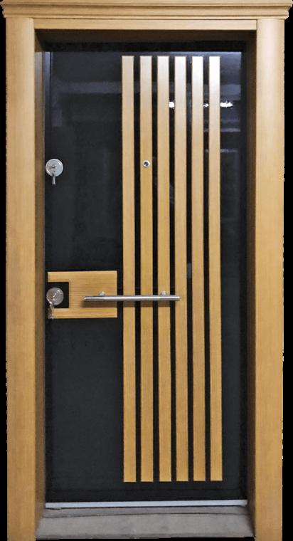 Vizyon 002 Vizyon Seri Çelik Kapı Modeli 002